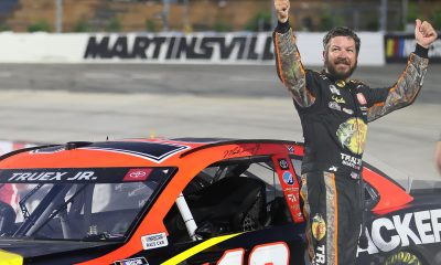 Martin Truex, Jr. Earns Third Martinsville Win