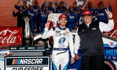 Larson Leaves 600 Field in Dust, Sets Hendrick Milestone