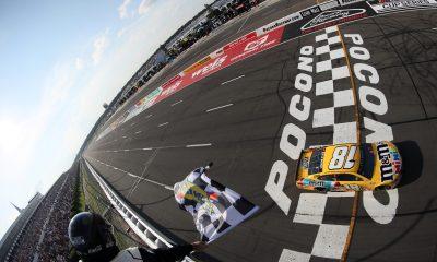Kyle Busch Wins Fuel Mileage Race at Pocono
