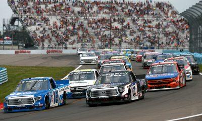 Austin Hill Tames Watkins Glen in Truck Series Return