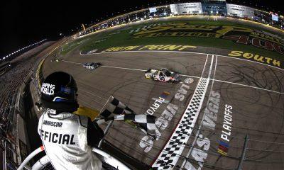 Eckes Earns First Career Truck Win in Vegas Thriller