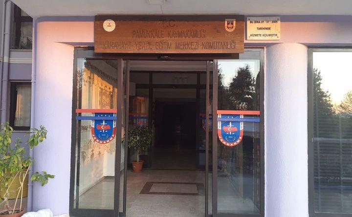DENİZLİ/KARAHAYIT YEREL JANDARMA EĞİTİM MERKEZİ(KAPLICA)
