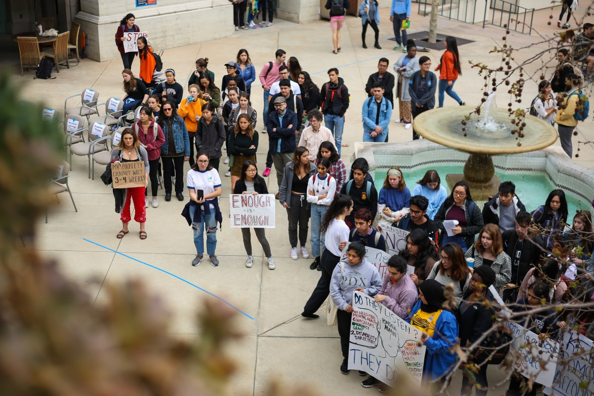 'Just not enough': Pomona students rally for improved mental health care