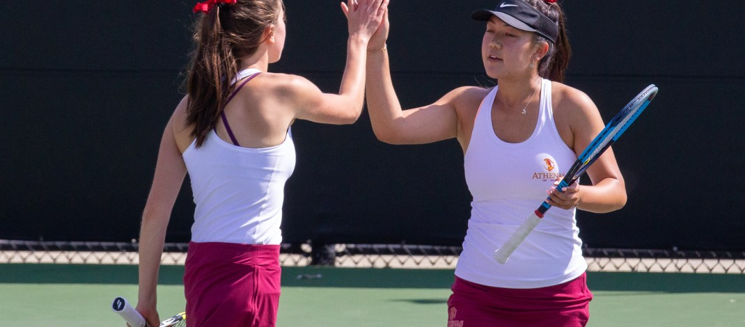 No. 2 Athena tennis rolling again; team gearing up for NCAA repeat