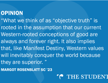 """OPINION: There is no """"objective good,"""" just paternalism"""