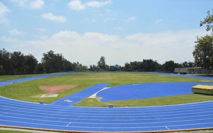 Pomona's blue Strehle Track.
