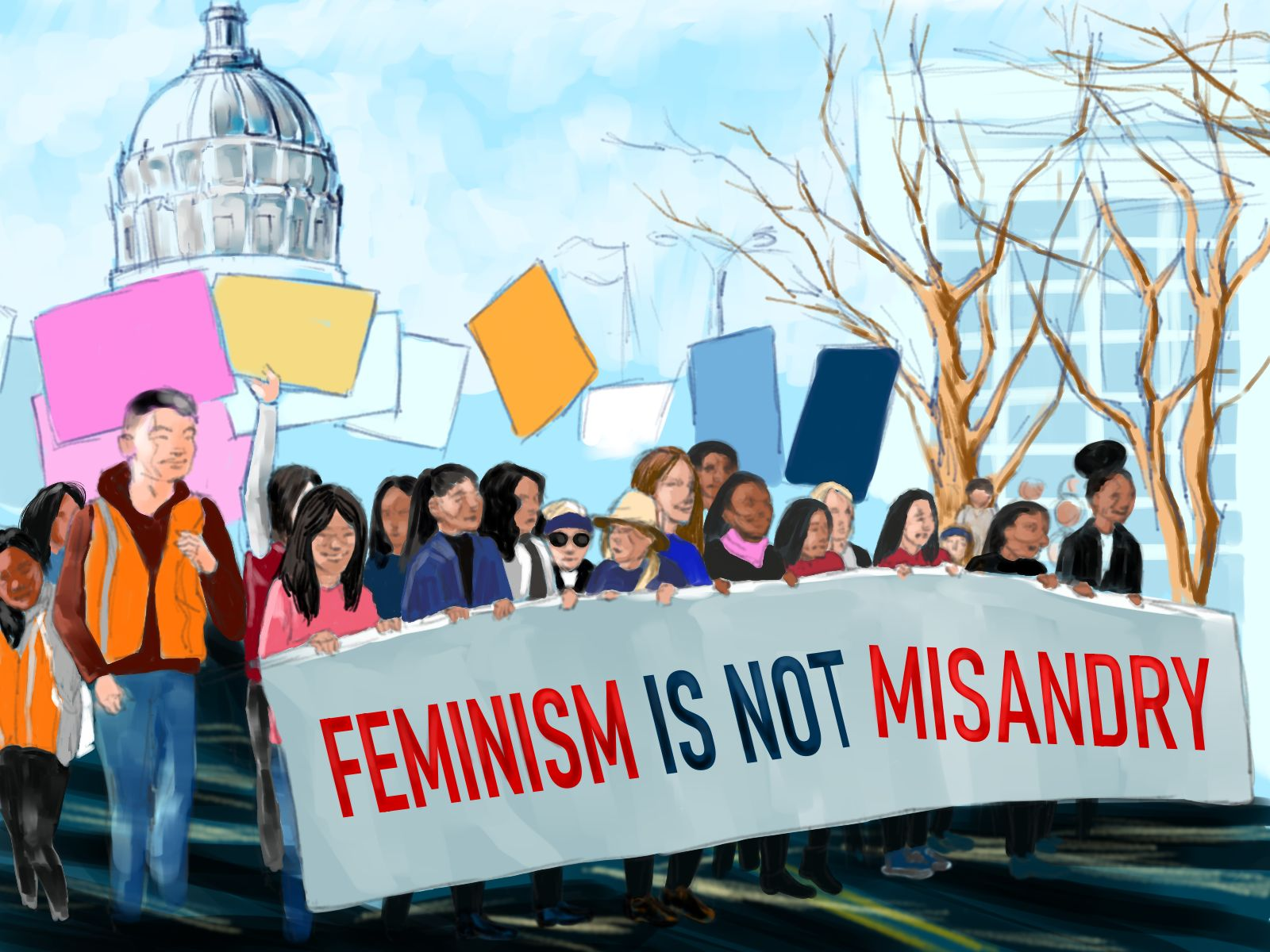 OPINION: Feminism does not mean man-hating   The Student Life