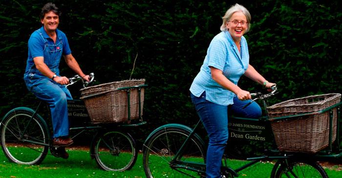 Jim Buckland and Sarah Wain: Head gardeners
