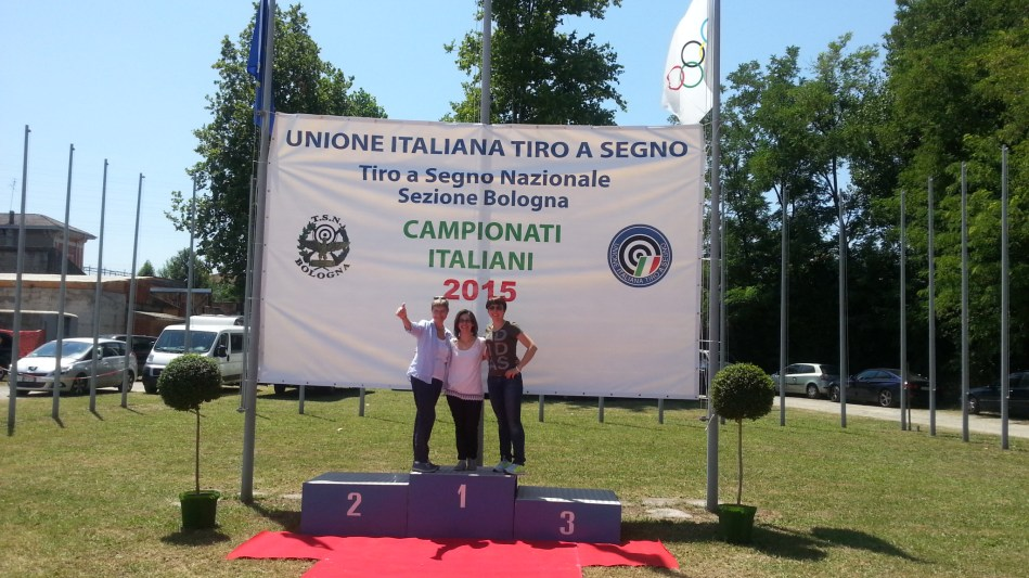 C.Italiani 2015 - Le migliori fans ex-aequo sul podio
