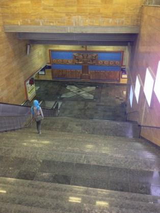 Mellat Metro Station
