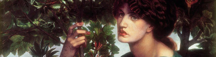 Dante Gabriel Rossetti - The Day Dream, header