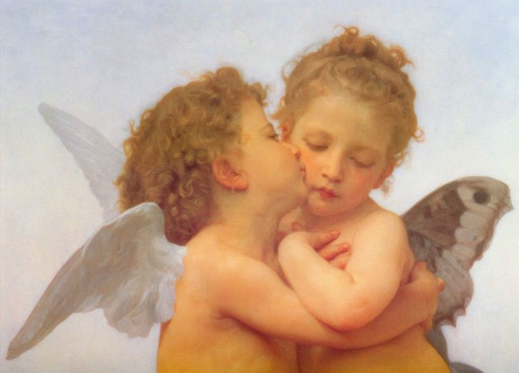 Cupid and Psyche Baby
