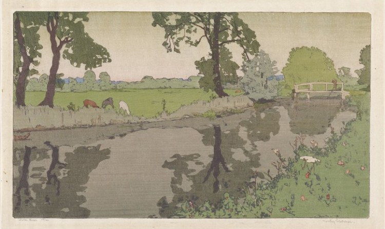 Frank Morley Fletcher - Wiston River