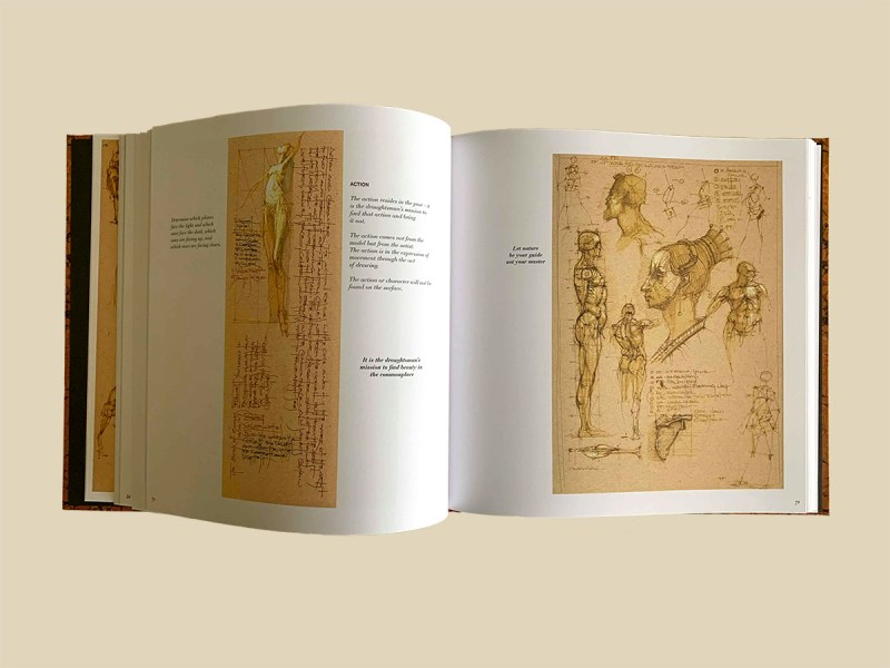 Michael Mentler, The Book of Bones, pages inside the book 01