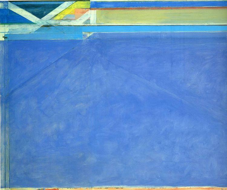 Richard Diebenkorn - Ocean Park No. 129