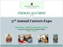 Career Expo Programme