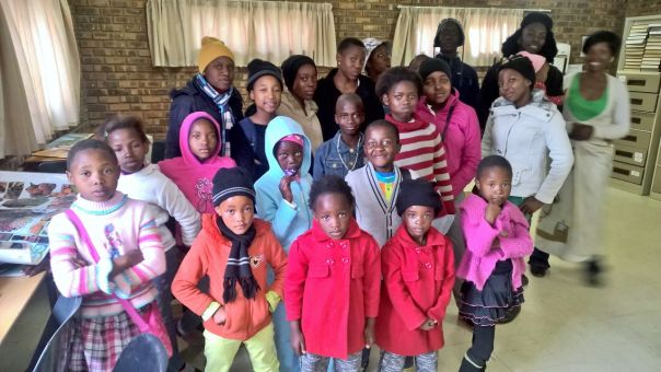 Children from Winterveldt who together with their parents get assistance from the Mercy Centre