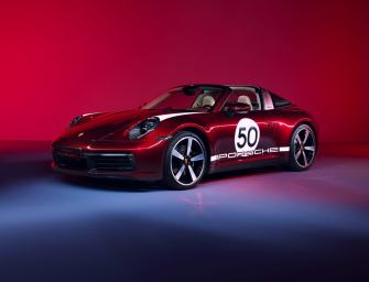 DE NIEUWE PORSCHE 911 TARGA 4S KRIJGT EEN HERITAGE DESIGN EDITIE