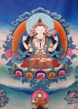 Avalokiteshvara, Four arm Chenrezi.