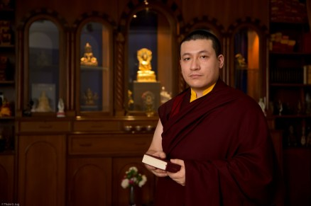 17th Karmapa. New Delhi, India
