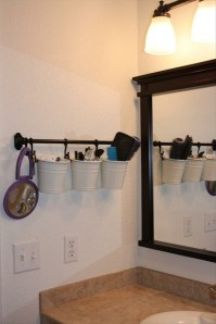 bath ideas: hang, if you cannot hide