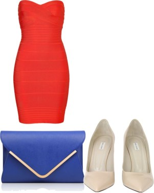 pantone color trend fashion spring 2013: poppy red, monaco blue and linen