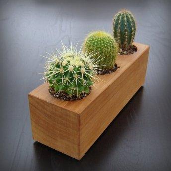 wooden planter ,21 euro