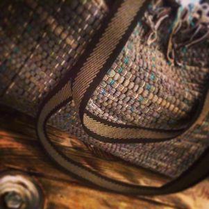 Bohemian style shoulderbag - details