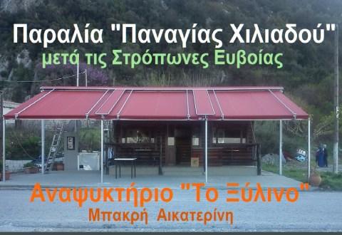 ΑΝΑΨΥΚΤΗΡΙΟ ΜΠΑΚΡΗ - ΧΙΛΙΑΔΟΥ 2