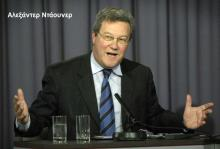 Νταβατζής της Κύπρου στην ΕΕ, ο εκπρόσωπος του ΓΓ του ΟΗΕ στη Κύπρο, Alexander Downer