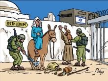 Αυξημένα και φέτος τα μέτρα ασφαλείας στην αποκλεισμένη από τους Εβραίους Βηθλεέμ….