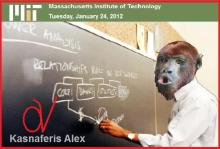 Και μαϊμού καθηγητή από τη Μάσαχούτσες έχουμε πλέον υπέρ του Γκαγκά — Καιρός να αποσυρθούν οι αιμοδιψείς μνηστήρες.