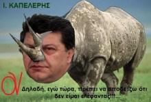 Προβληματισμένος ο ρινόκερος των φοροφυγάδων!!!…