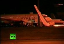 Βαθαίνει η ρωσοτουρκική κρίση : «Οι Τούρκοι κακοποίησαν Ρώσους στο Airbus» — Βίντεο RT του απαχθέντος αεροσκάφους