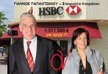 Που τα βρήκε ρε κοπρίτη Γιάννο Παπαντωνίου, η Χρυσούλα σου τόσα λεφτά, ενώ εσύ είχες στα χέρια σου και τα δύο οικονομικά υπερυπουργεία???