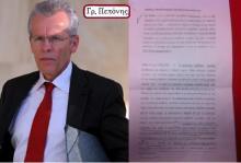 """Η διαβίβαση του φακέλου για τα μαγειρέματα των στατιστικών Στοιχείων της Ελληνικής οικονομίας, στη Βουλή από τον οικονομικό εισαγγελέα Γρ. Πεπόνη, ξεσκέπασε το """"πολιτικό"""" παιχνίδι του Αντεισαγγελέα του Αρείου Πάγου, Μακρή και τη λυσσαλέα επίθεση του τραμπούκου της τρόϊκα."""