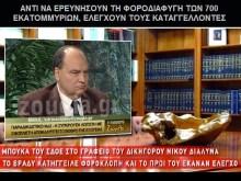 ΓΚΑΓΚΣΤΕΡΙΚΟ «πέσιμο» του ΣΔΟΕ κατά του Διαλυνά, μετά τις καταγγελίες του!!!