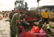 Στρατός για τα μπάζα και τα σκουπίδια?????