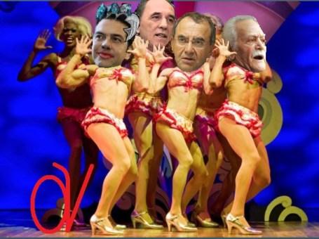 ΣΥΡΙΖΑ- ΤΣΙΠΡΑΣ -ΓΛΕΖΟΣ -ΣΤΡΑΤΑΚΗΣ -ΣΤΡΑΤΟΥΛΗΣ-ΤΟ ΚΛΟΥΒΙ ΜΕ ΤΙΣ ΤΡΕΛΕΣ