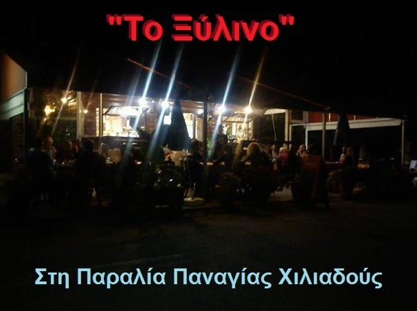 ΤΟ ΞΥΛΙΝΟ -ΠΑΡΑΛΙΑ ΧΙΛΙΑΔΟΥΣ 1
