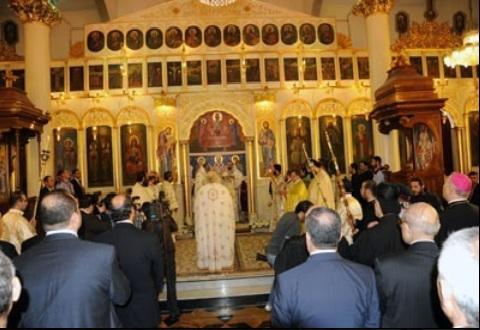 Τελετή Ενθρόνισης Πατριάρχη Αντιόχειας