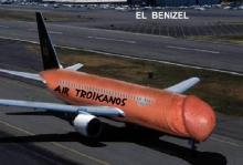 """ΕΚΤΑΚΤΟ: Με ειδική πτήση της """"AIR TROIKANOS"""" έφθασαν πριν από λίγα λεπτά, οι τροϊκάνοι…"""