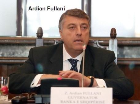 Ardian Fullani -ΤΡΑΠΕΖΑ ΑΛΒΑΝΙΑΣ