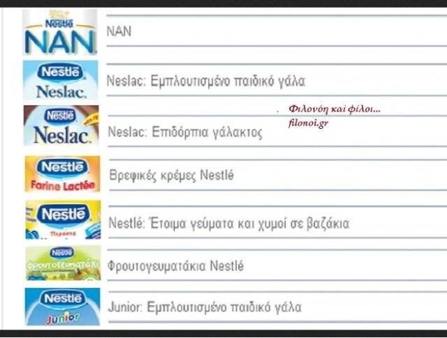GREENPEACE ΚΑΙ ΜΕΤΑΛΛΑΓΜΕΝΑ 3 Nestle
