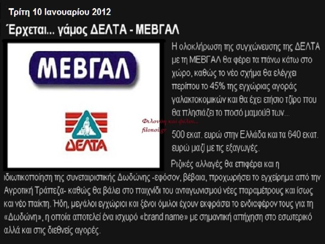GREENPEACE ΚΑΙ ΜΕΤΑΛΛΑΓΜΕΝΑ 5 ΜΕΒΓΑΛ