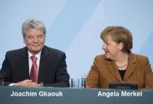 Στη Γερμανία τα κόμματα συμφώνησαν να ψηφίσουν τον Joachim Gkaouk για τη θέση του προέδρου της χώρας τους.