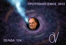 Βρήκα τη σελίδα 124 που έχασε μόνο ο Καζάκης!!!!… Με μια οικονομολογική διαφορά: Ο αρχηγός Καζάκης, μπερδεύει την Εισηγητική Έκθεση, με αυτόν τούτον τον …Προϋπολογισμό!!…