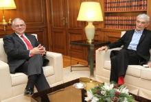 """Συνάντηση πλαστικού Παπαδήμου με νάϋλον Μπουτάρη, για να τιμηθεί και να αξιοποιηθεί το πρόσφατο """"ολοθαλάσσωμα"""" του Θερμαϊκού"""