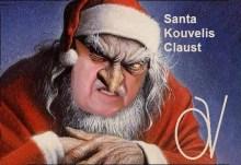 Το νου σας, ολόκληρη τη νέα χρονιά, θα σας κλέβει ο δαιμονισμένος Santa Kouvelis Claust de Cleptomaniac…..