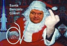 Κρυφτείτε Γειτόνοι!!!…. Και ο Santa Benizela Claust λεηλατεί τις λαϊκές αγορές….
